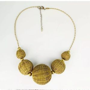 Vintage 60's giant ball bead necklace